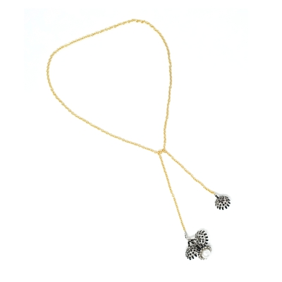 BEAM CHAIN NECKLACE BLACK