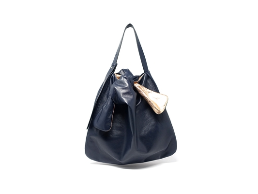 SOFT MOLA TOTE M BLUE/METAL
